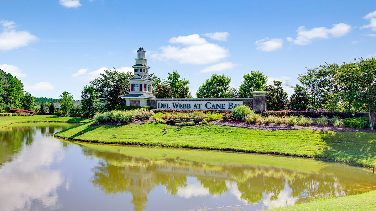 Del Webb at Cane Bay Gated Entrance