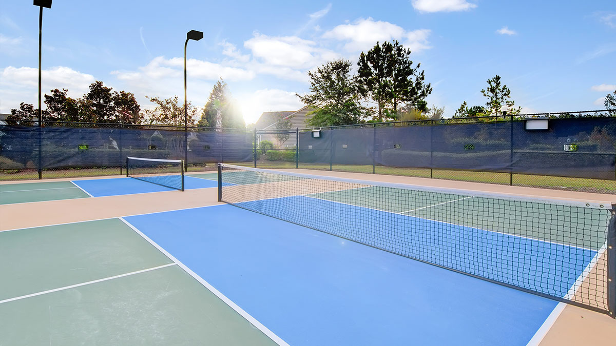 Del Webb at Cane Bay Tennis Courts