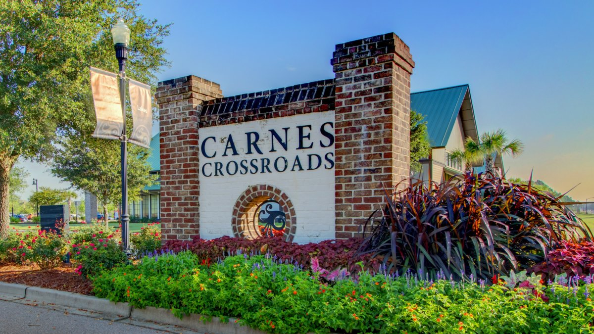 Carnes Crossroads Entrance