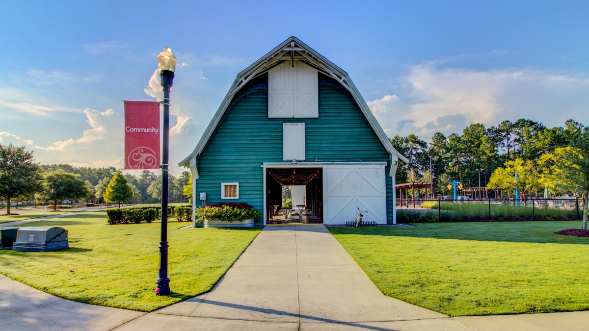 The Green Barn at Carnes Crossroads in St. Thomas Park