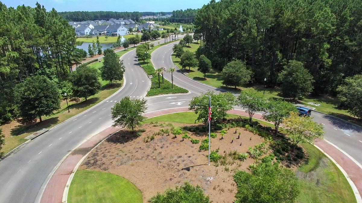 Cane Bay Plantation Traffic Circle into Magnolia