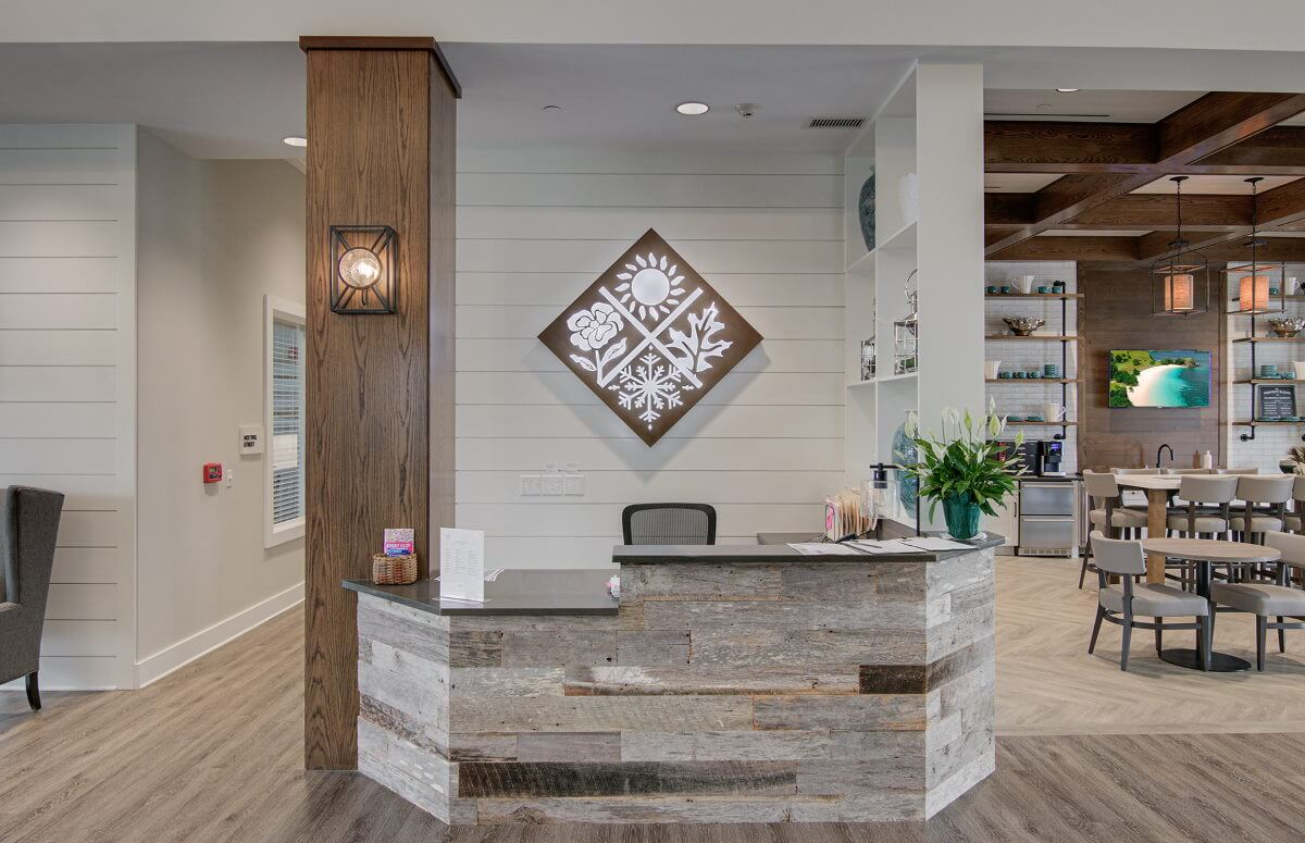 Four Seasons at Lakes of Cane Bay Welcoming Lobby