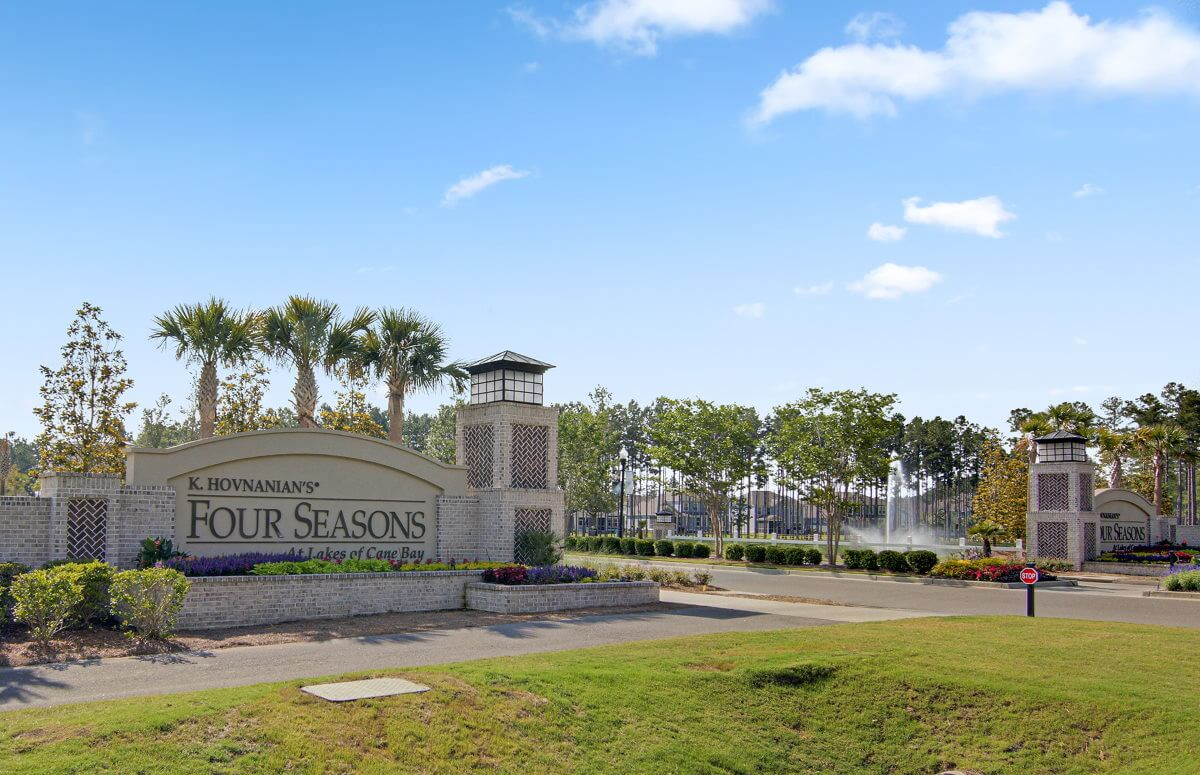 Four Seasons at Lakes of Cane Bay Entrance