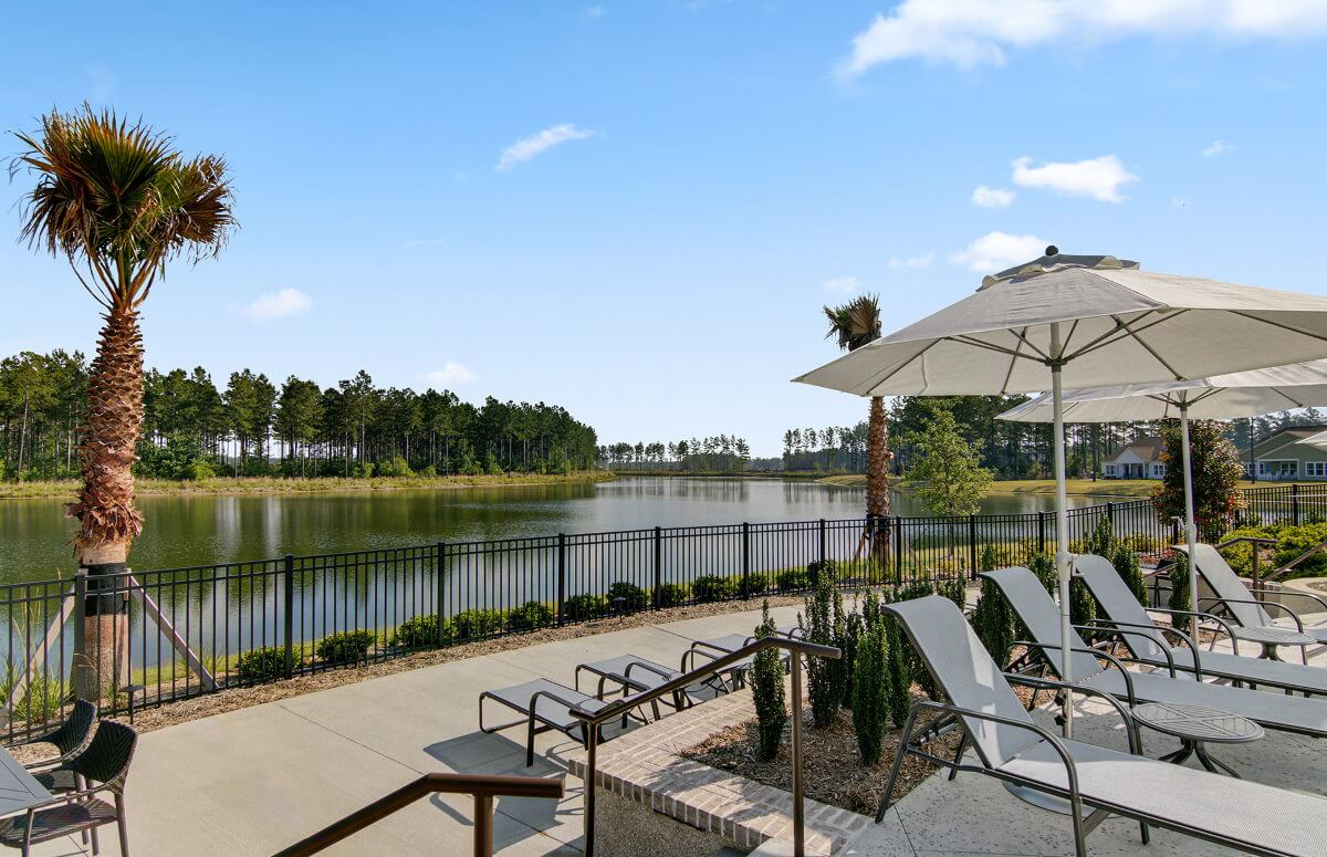 Four Seasons at Lakes of Cane Bay Outdoor Pool with Lake Views
