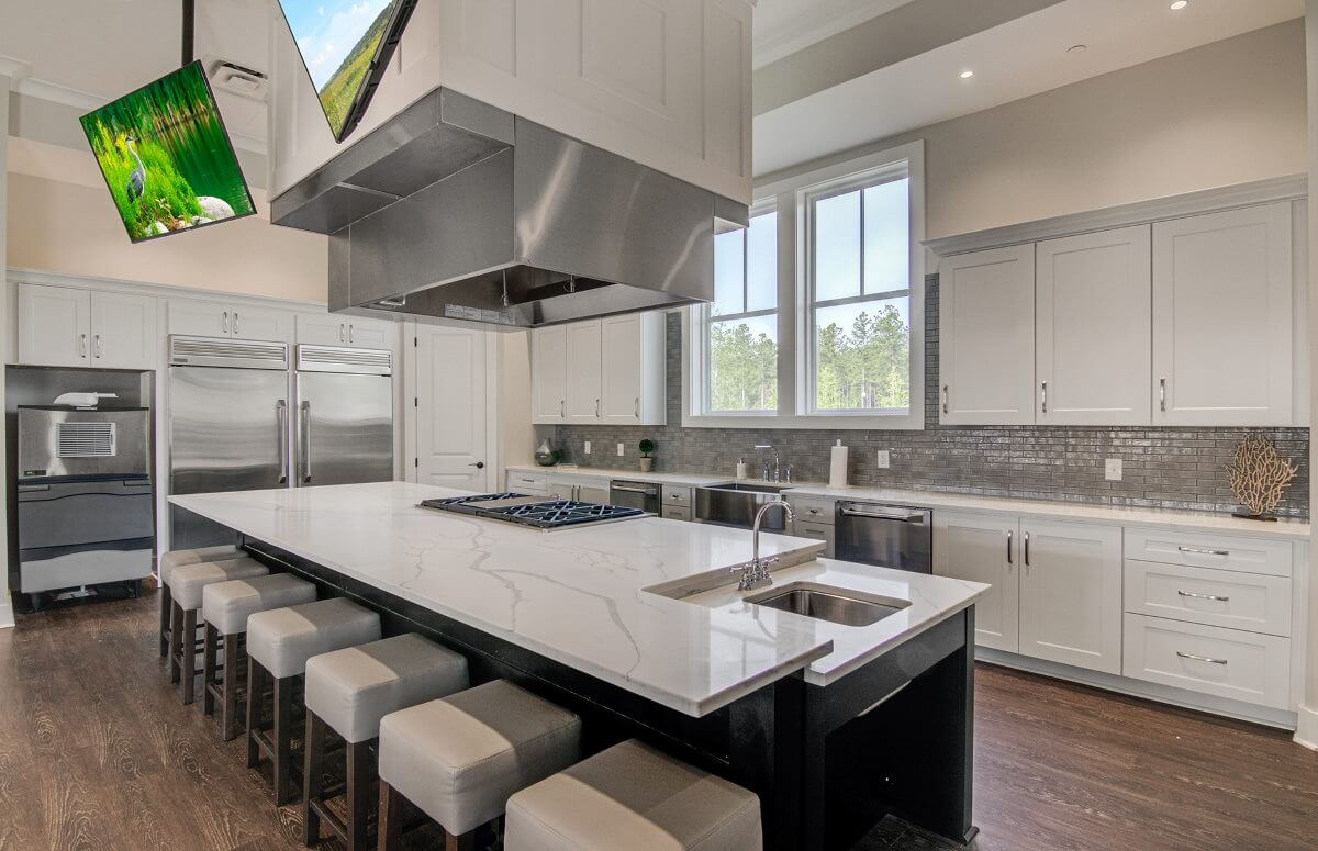 Four Seasons at Lakes of Cane Bay Demonstration Kitchen