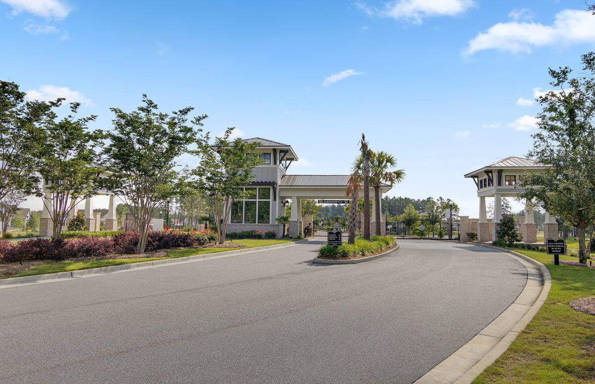 Four Seasons at Lakes of Cane Bay Gated Entrance