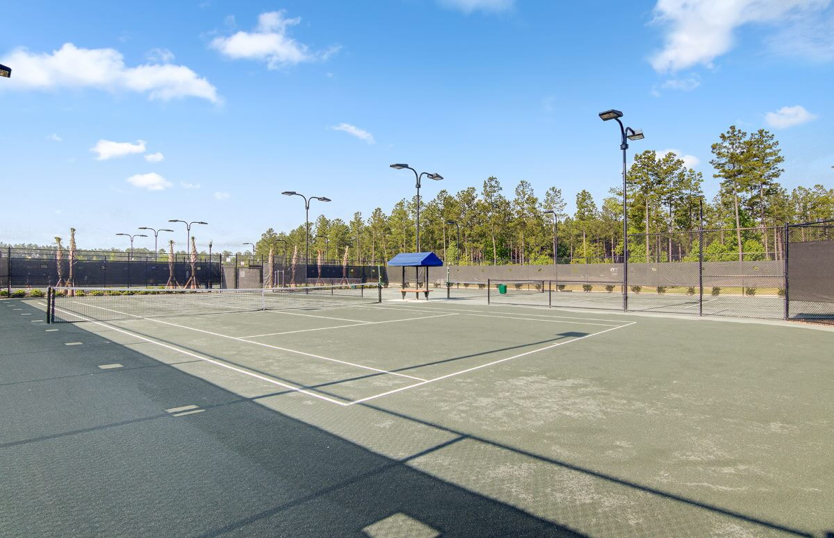 Four Seasons at Lakes of Cane Bay Tennis Courts