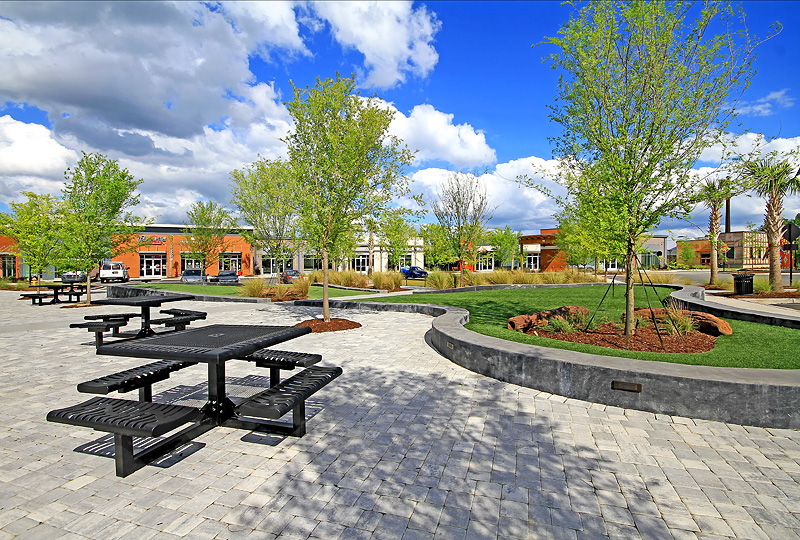 Nexton Square Events Lawn where special community events are held