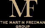 The Martin Freeman Group Logo Gold